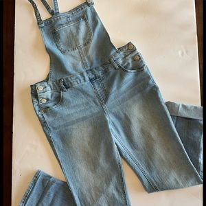 Denim Jean Overalls Cat & Jack XL Girls